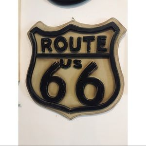 Other - Route 66 Wood Wall Art